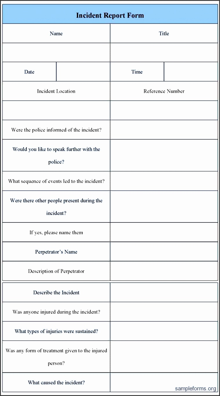 Security Guard Incident Report Template Word. 7 Security Guard Incident  Report Template Tipstemplatess .