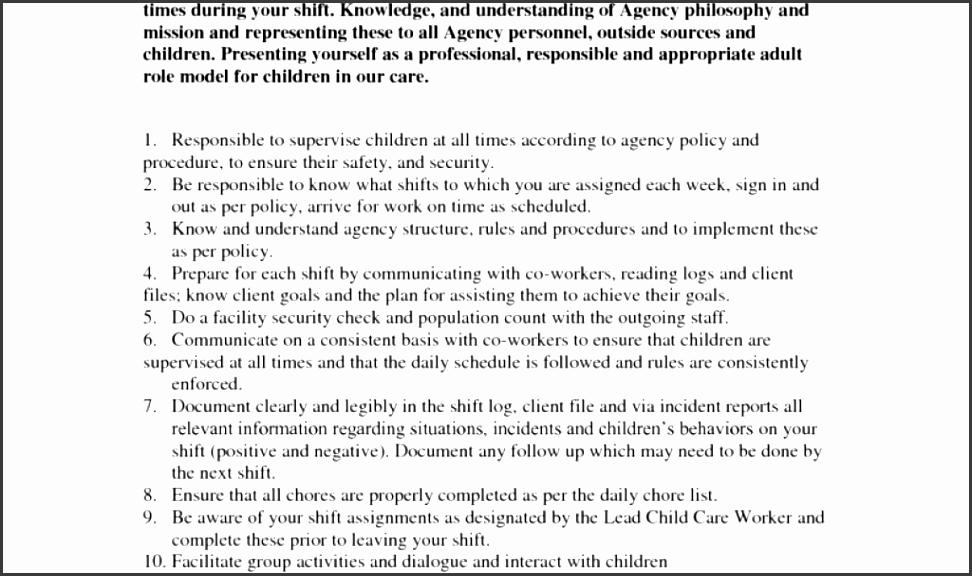 11 Job Description Statement Template SampleTemplatess