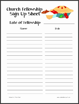 10 Make Free Sign Up Sheet In Word SampleTemplatess