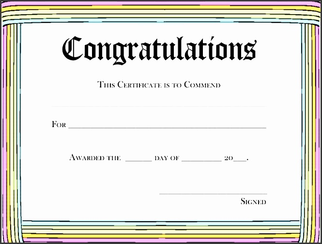 8 Printable Certificate Of Appreciation Template