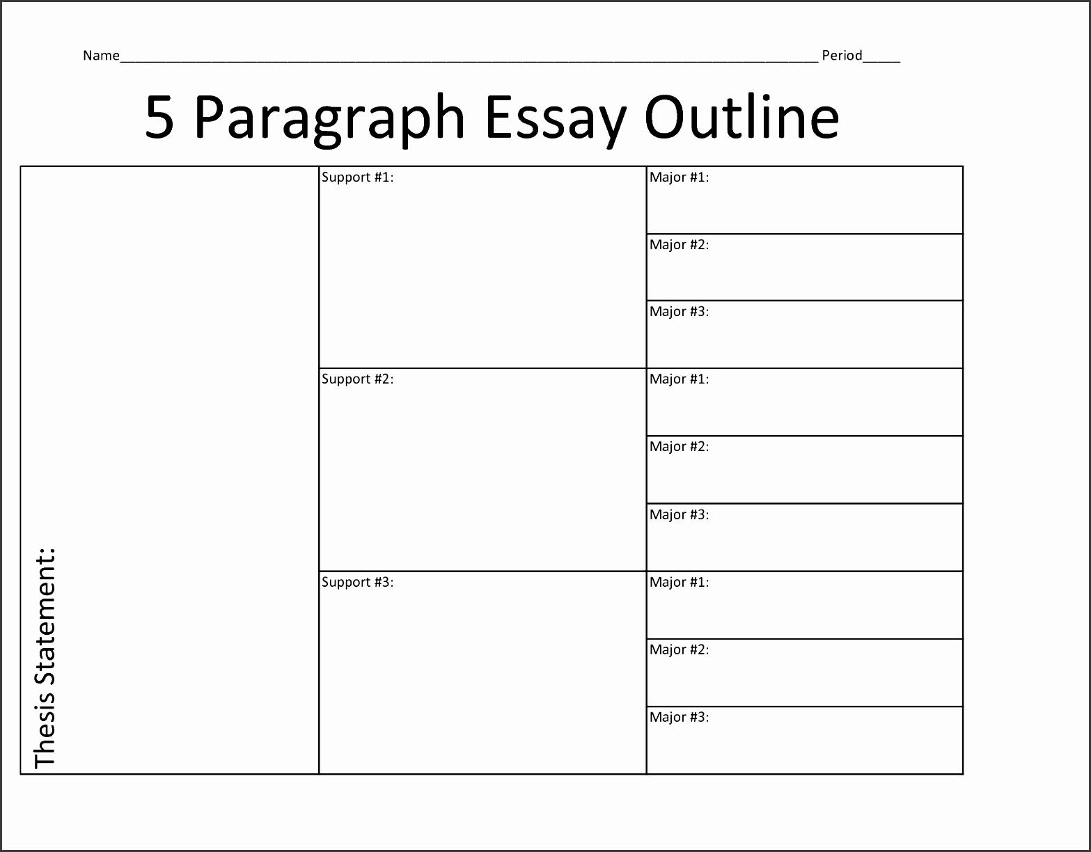 8 Printable Outline Template SampleTemplatess