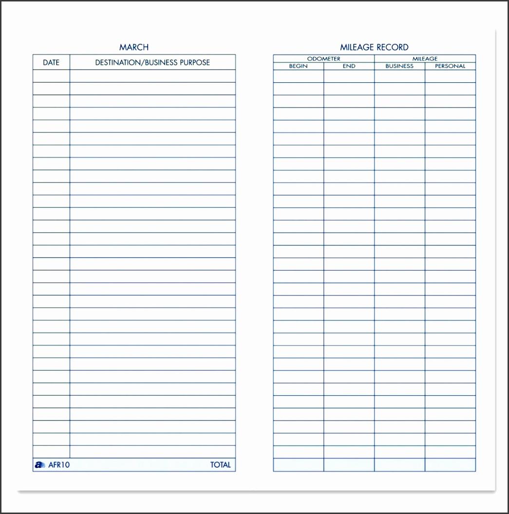 free vehicle expense log template ac dual capacitor wiring diagram 5 43 mileage templates sampletemplatess