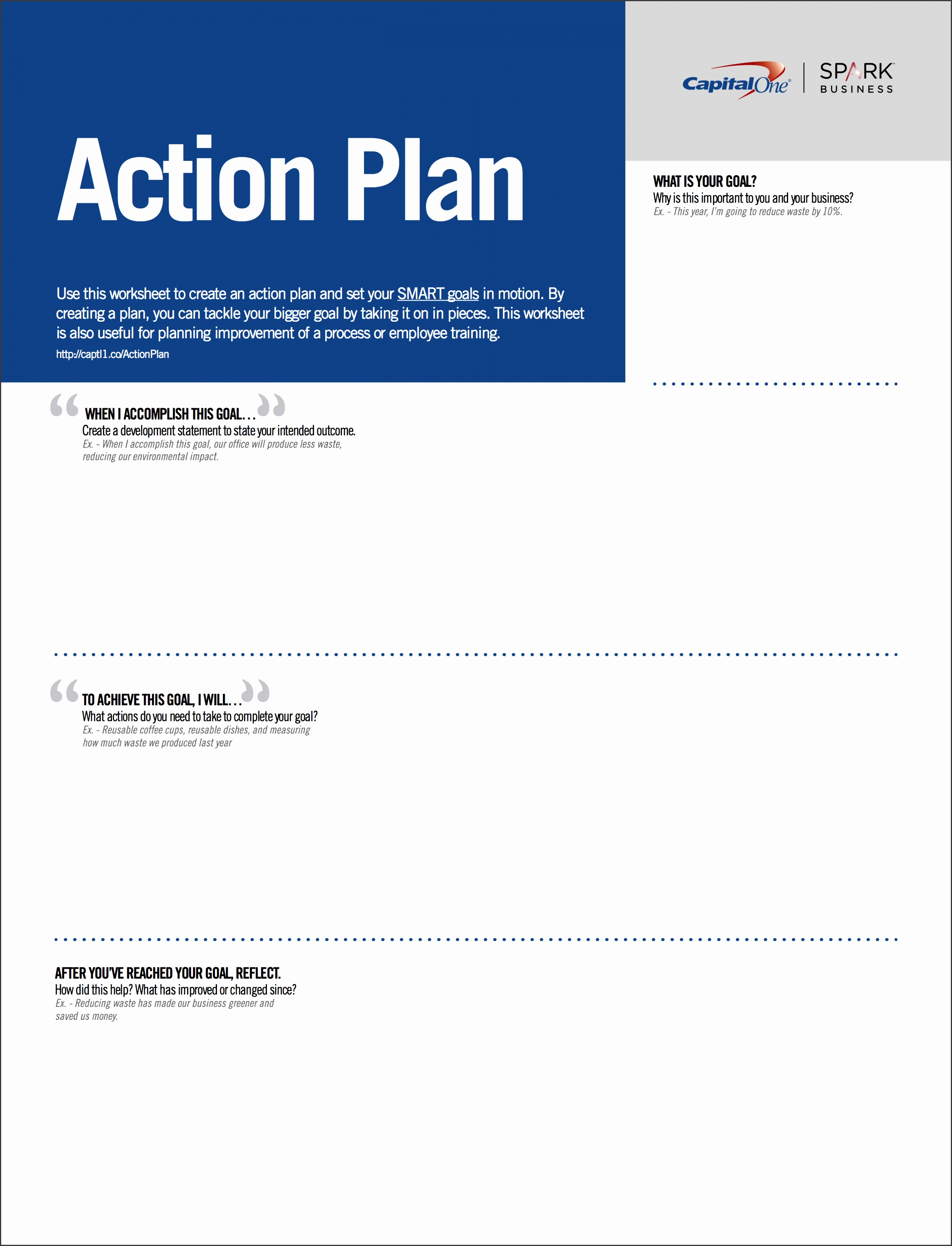 6 Business Action Plan Template