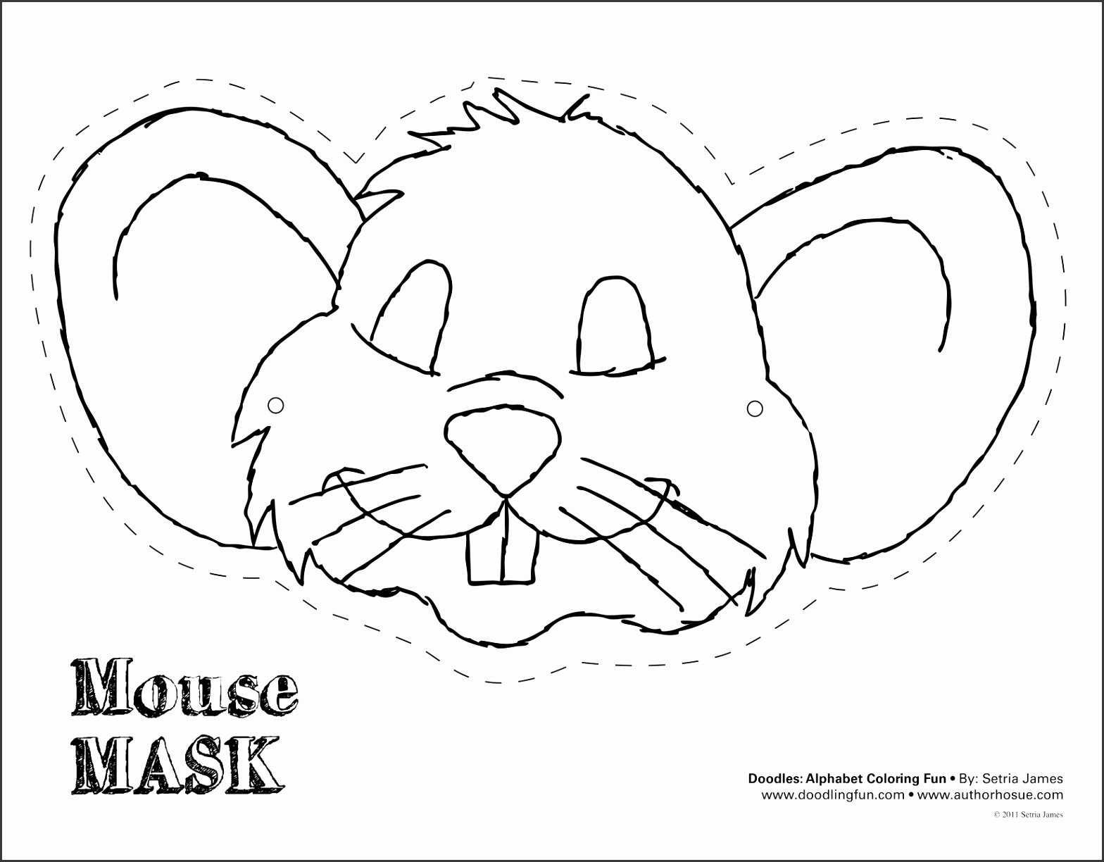 6 Mickey Mouse Mask Template
