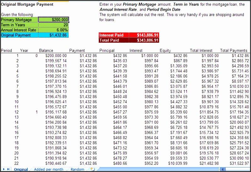 amortization schedule personal loan calculator