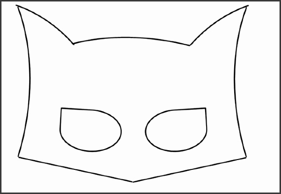 6 Printable Batman Mask Template SampleTemplatess