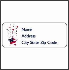 5 Return Address Label Template 60 Per Sheet