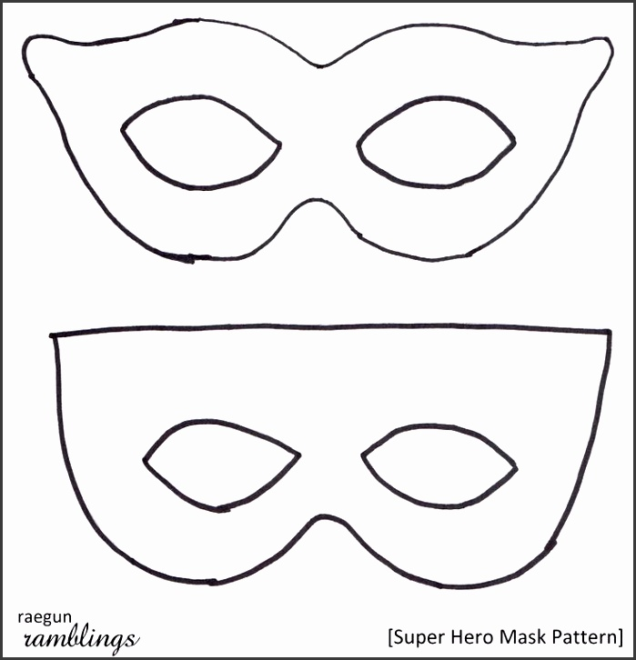 photograph about Printable Superhero Masks referred to as Printable Superhero Mask Templates Great For Halloween