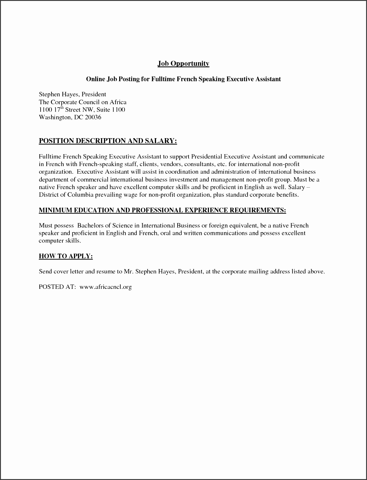 Lead Engineer Cover Letter
