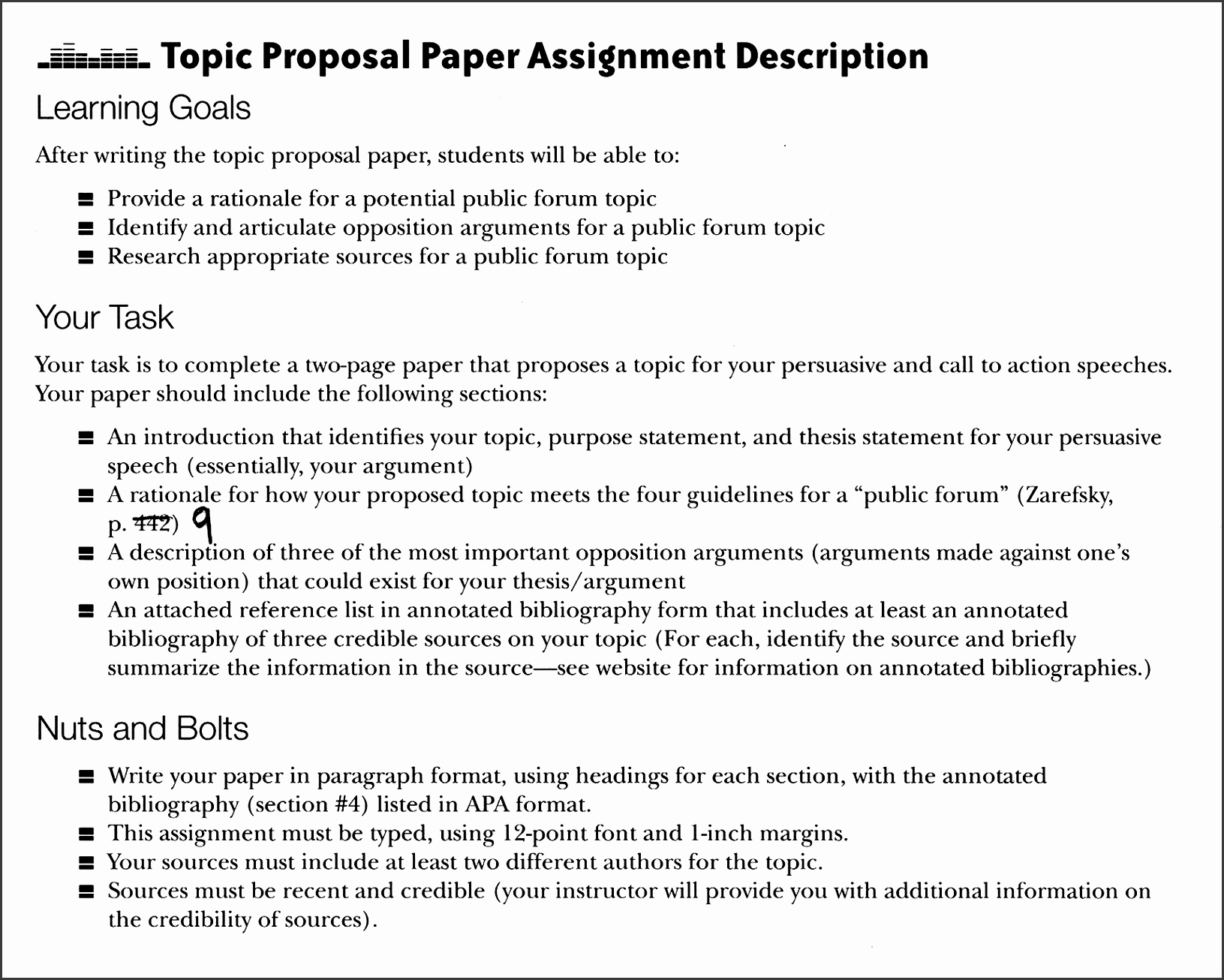 10 Proposal Document Template