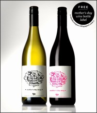 8 Wine Bottle Labels Template Free Download ...