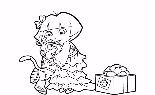 Kleurplaten Dora De Verkenner 2 Leuk Voor Kids Een Mooi