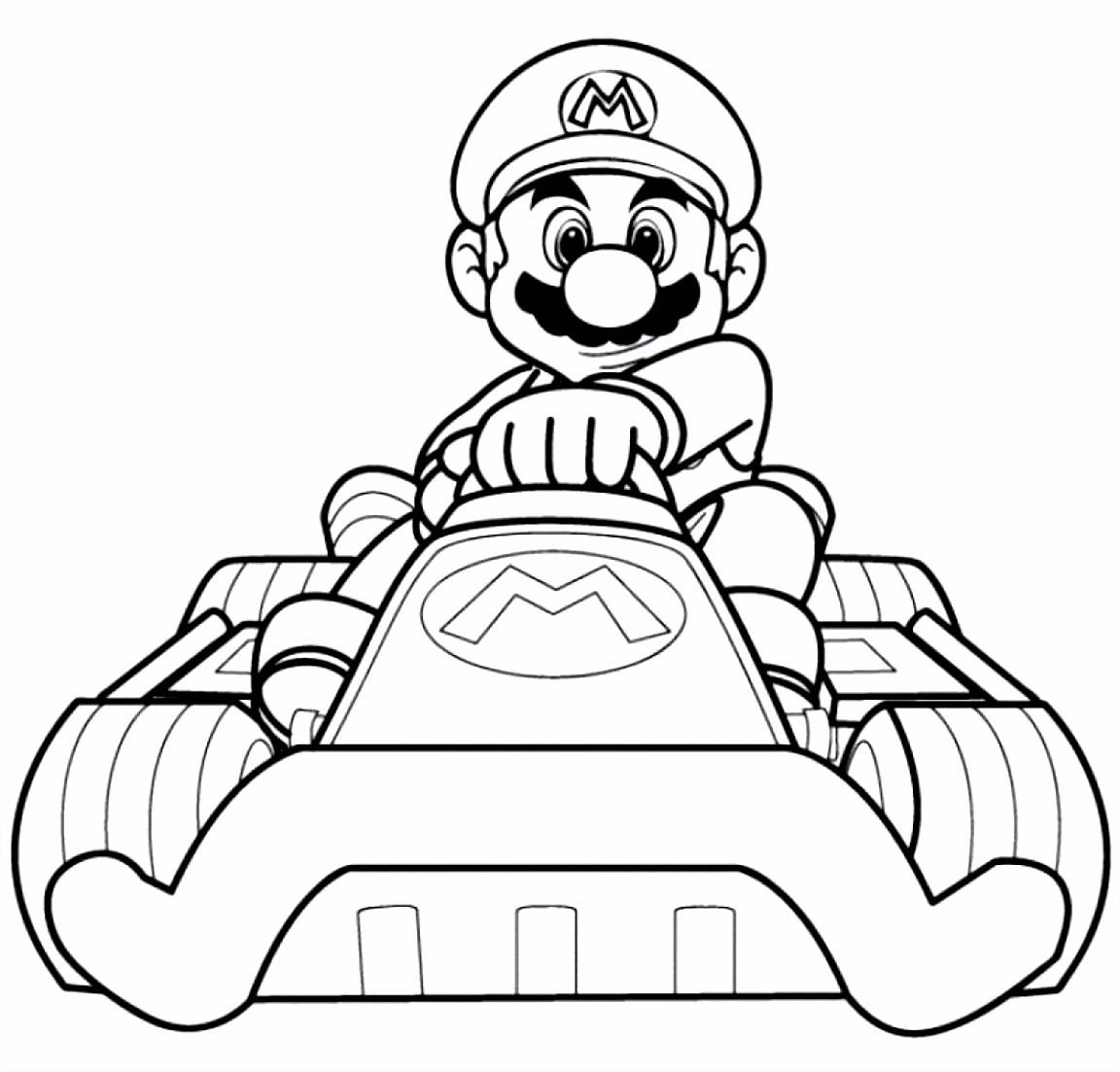 10 Mario Kleurplaten