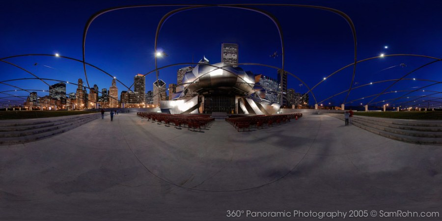 Pritzker Pavilion :: Chicago  :: 360° Panorama