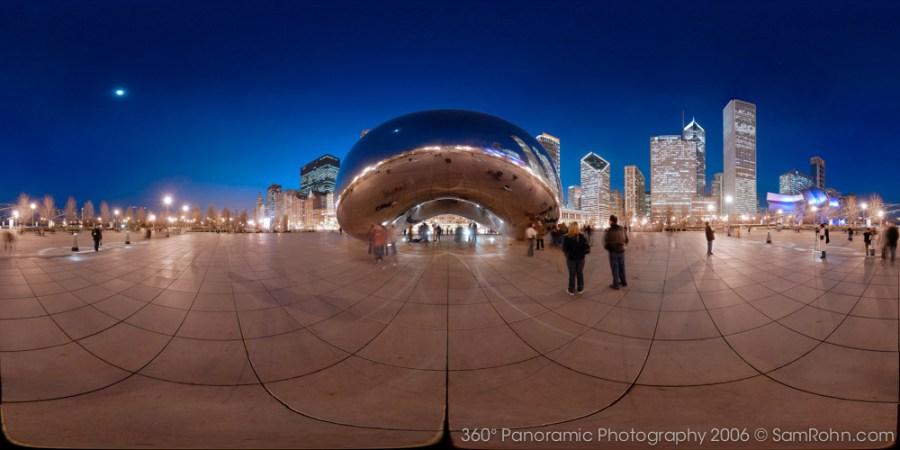 Cloud Gate :: Chicago  :: 360° Panorama