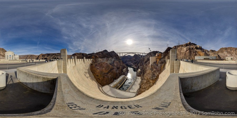 Hoover Dam :: Nevada  :: 360° Panorama