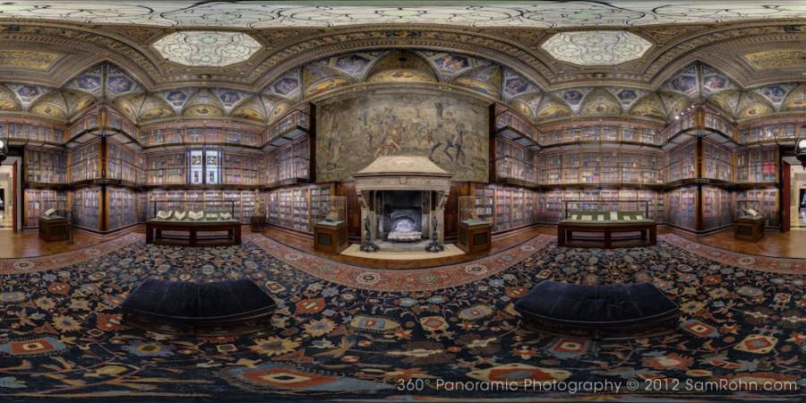Morgan Library Vr Tour