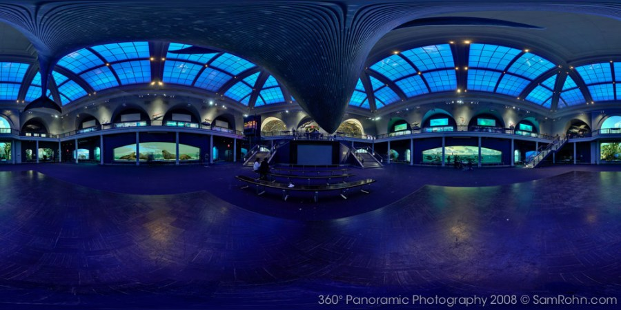 Hall of Ocean Life :: Museum of Natural History :: NYC  :: 360° Panorama