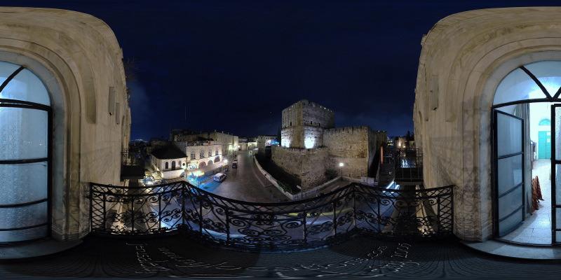 Petra Hostel :: Jerusalem  :: 360° Panorama