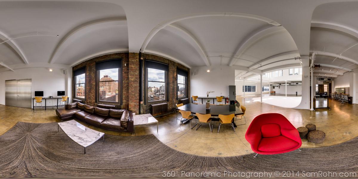 Milk studios nyc 360 virtual tour sam rohn 360 for House 360 view