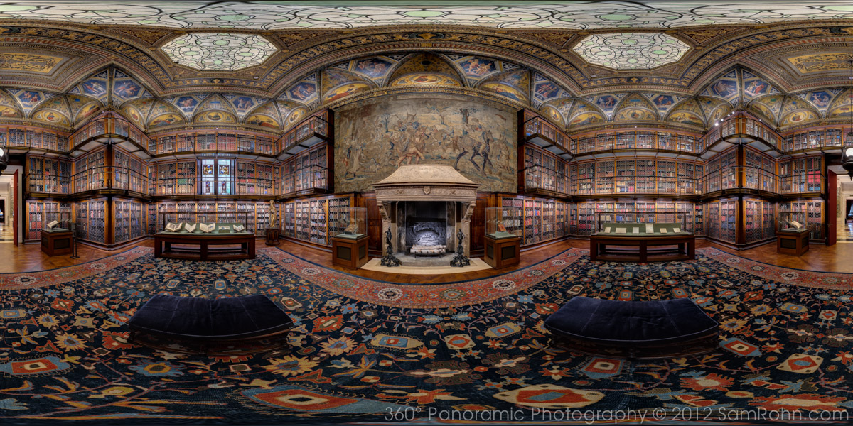 Morgan library nyc sam rohn 360 photography for 360 degree house tour