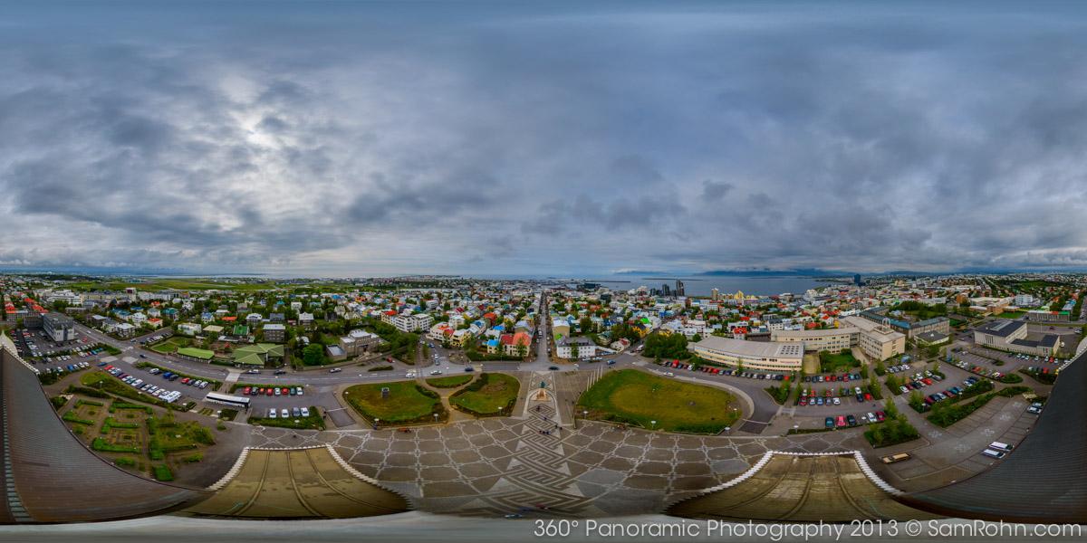 Reykjavik Iceland 360 176 Panorama Sam Rohn 360