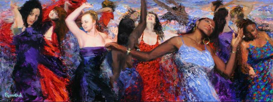 Dance (Part One), 30 X 80