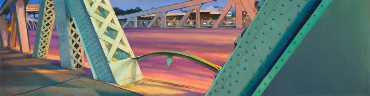 Green Dolphin Bridge, 32 X 120