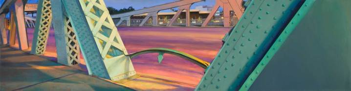 Green Dolphin Bridge, 32 X 120