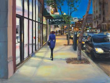 Luckys, 32 X 42, Sold