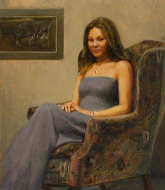Rachel, 42 X 48