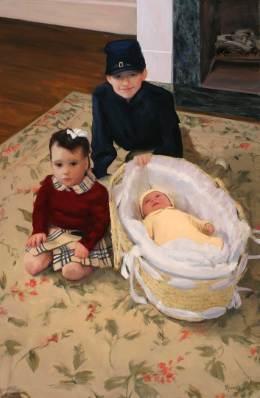 The Wacker Family, 54 X 32, Sold