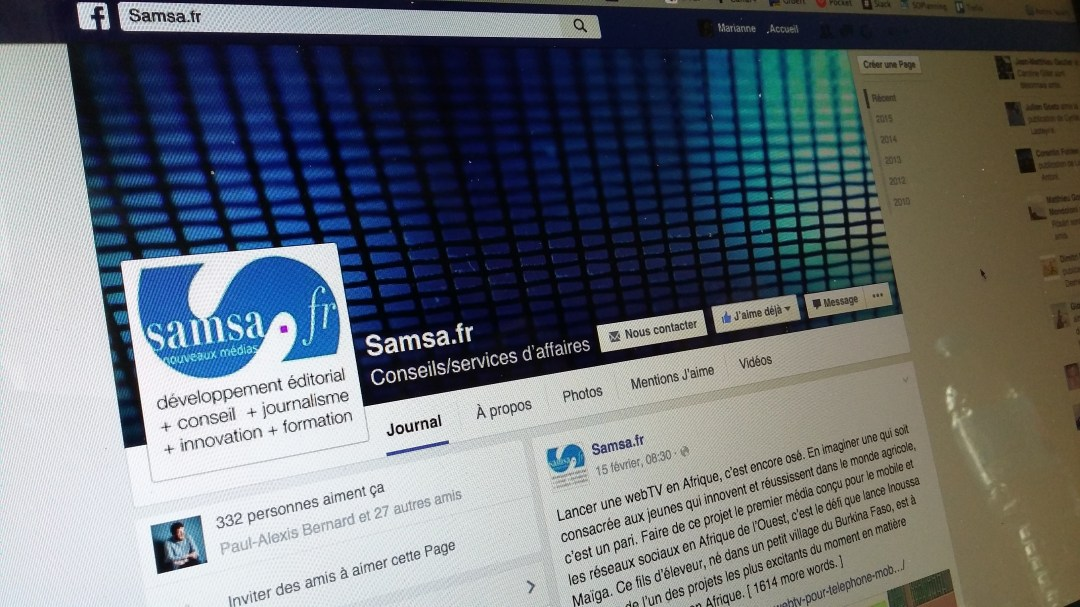 Formation Facebook community management