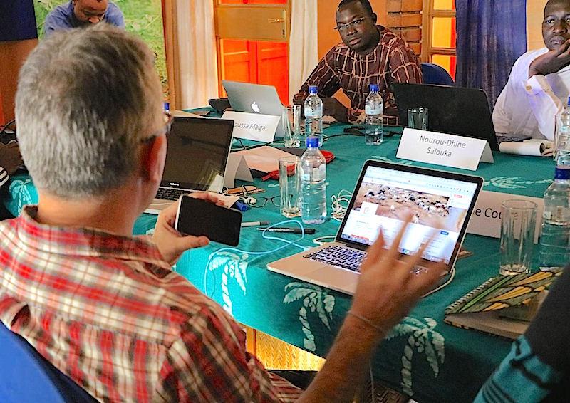 Séance de travail sur les formats éditoriaux des vidéos que proposera AgribusinessTV.