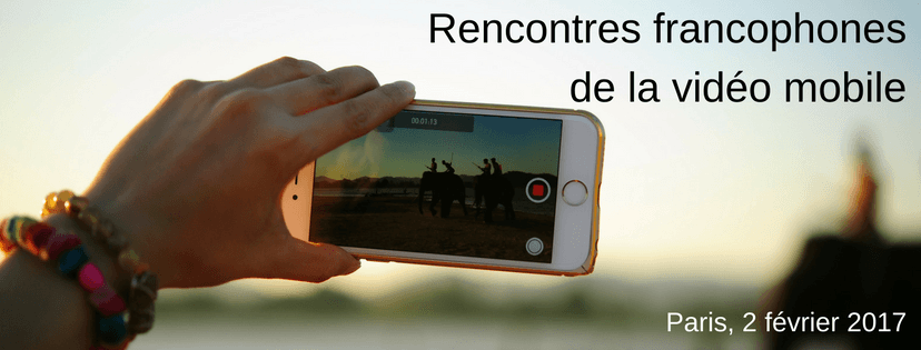 Coup d'envoi des Rencontres francophones de la vidéo mobile