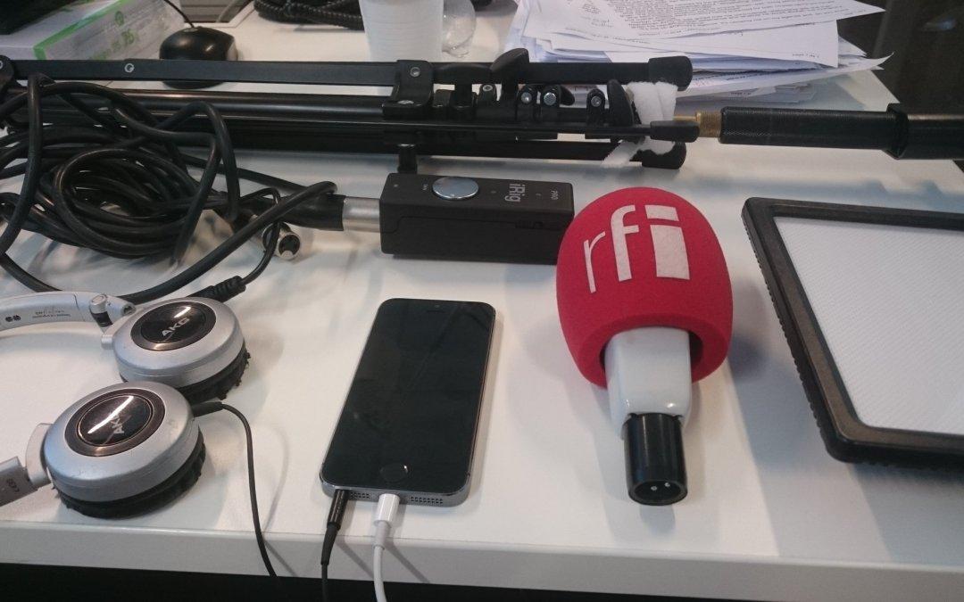 Reporter mojo en Iran et Flimic Pro pour Android [podcast]