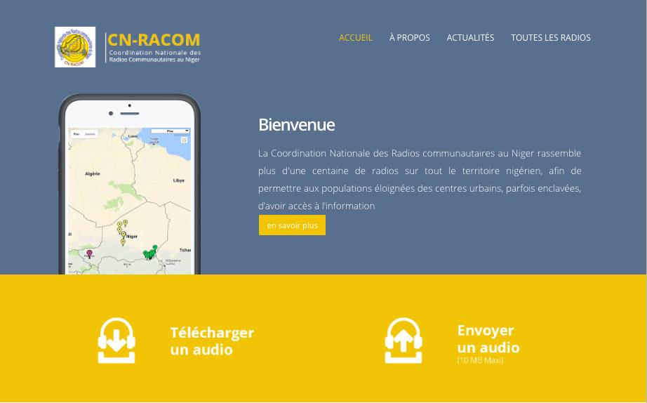 Niger: Samsa.fr accompagne la création d'un système de partage de contenus entre radios communautaires