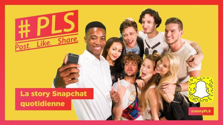 [Podcast] Comment la RTBF a créé la websérie #PLS sur Snapchat