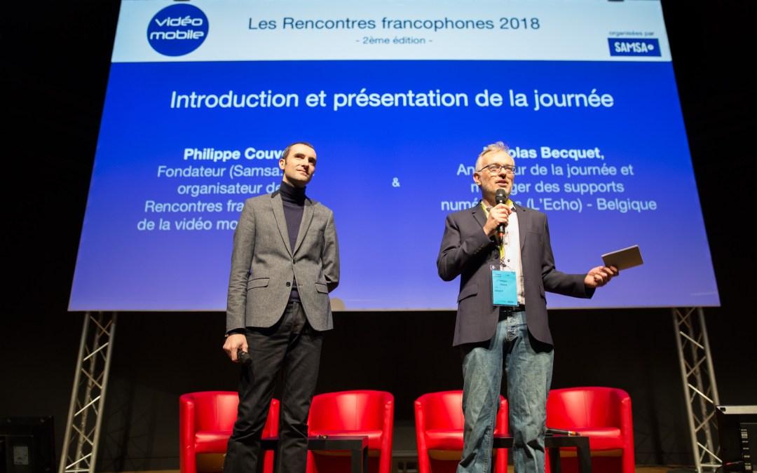 Rencontres francophones de la vidéo mobile : le contenu avant la technique