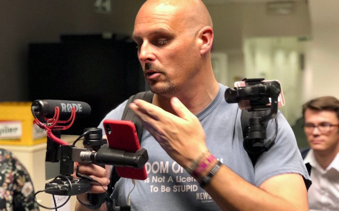 """Ne manquez pas la 2e révolution """"vidéo avec smartphone"""""""