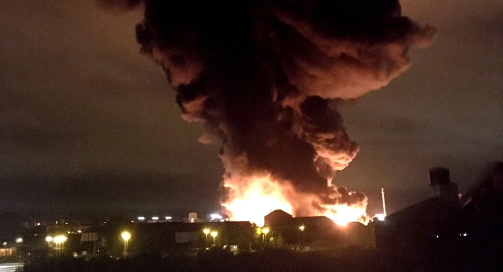 Incendie à l'usine Lubrizol de Rouen