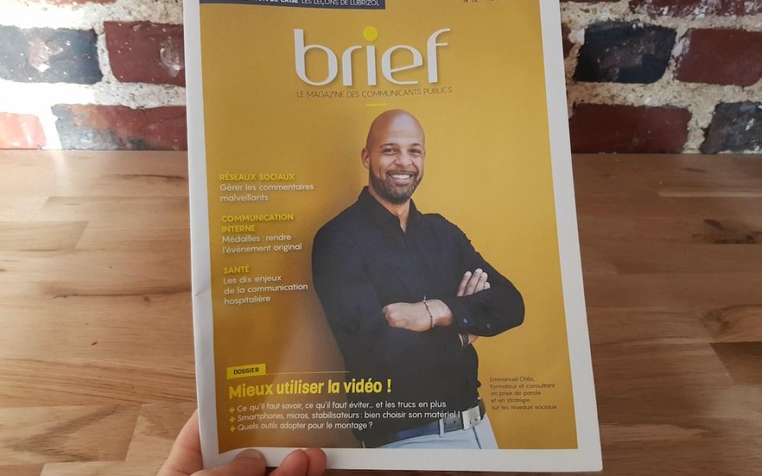La vidéo au service des collectivités et des institutions publiques: Brief, le mensuel de la communication publique, interroge Samsa.fr