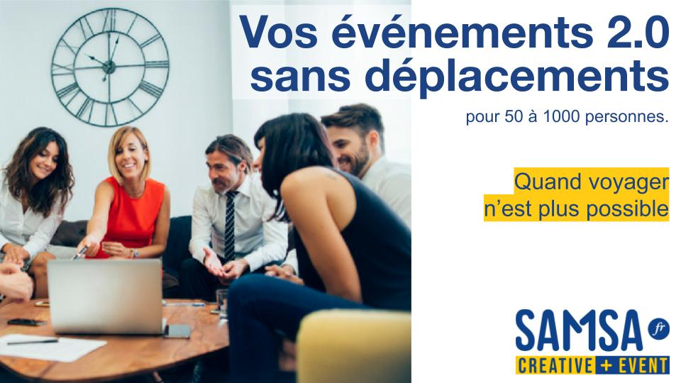 Dématérialisez vos événements avec Samsa.fr