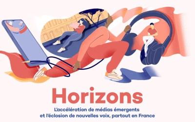 «Horizons»: accompagner l'émergence  de nouveaux médias