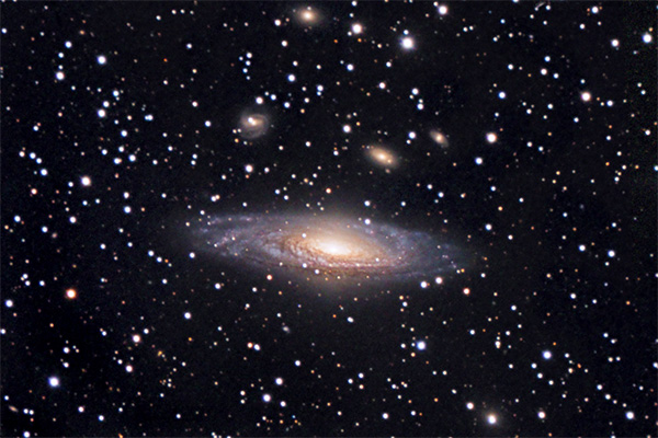 NGC 7331 Deer Lick Group of Galaxies