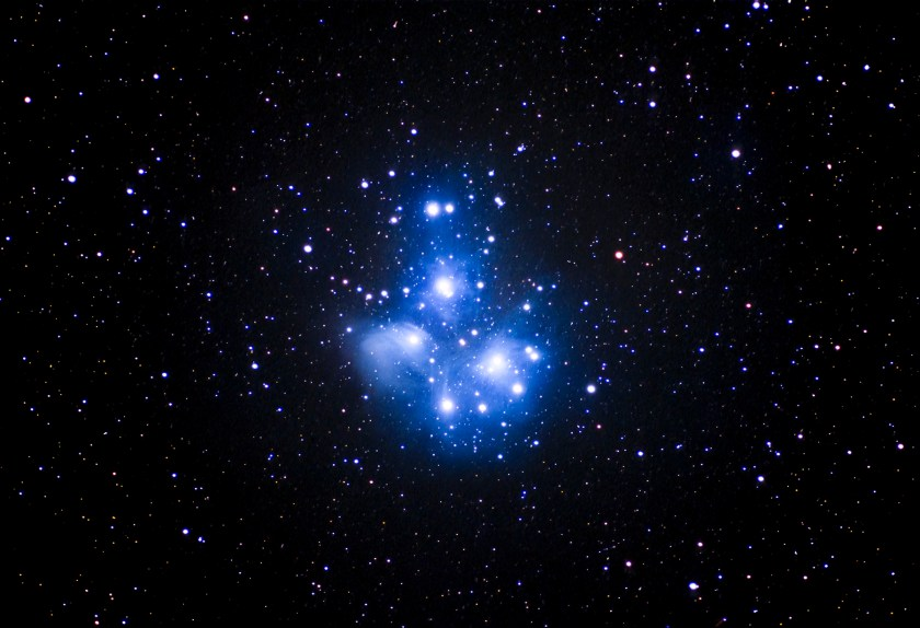 Pleiades Open Star Cluster M45