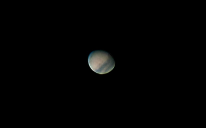 "Mars - 9/05/2005 B , Celestron 11"" SCT f/25 & ToUcam"