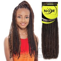 Janet Collection Noir Afro Marley Braid | Short Hairstyle 2013