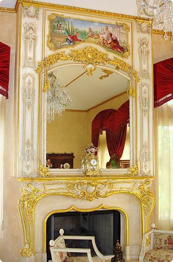 Sams Custom Interior Finishes Ornamental Gold Leafing