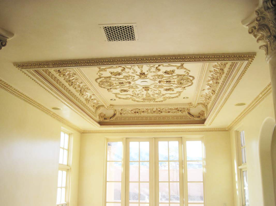 Ornamental Ceiling  Sams Custom Interior Finish